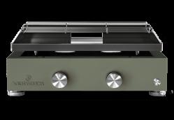 Plancha-Gasgrill SIMPLICITY 2 Brenner - emaillierte Stahlplatte