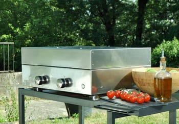 Outdoor Küche Edelstahl Unterschied : Plancha gasgrill